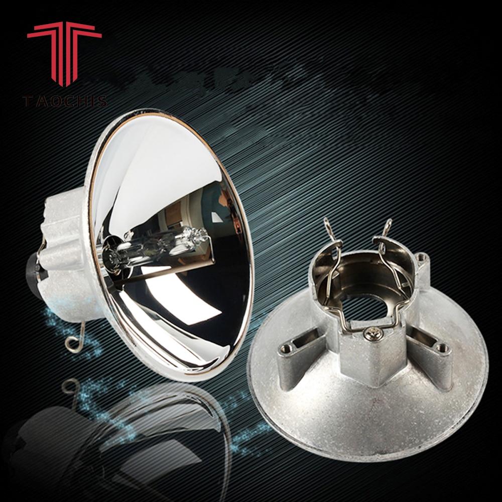 TAOCHIS Z9 Head Light Projector lens Reflective Bowl Heat Resisting Modify High Beam Reflector Cups HID Xenon Halogen Fog lamp