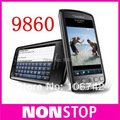9860 Оригинальный разблокирована blackberry Torch 9860 мобильный телефон, 3 Г, Wi-Fi, GPS, 5.0MP, сенсорный экран, PIN + IMEI Действительно