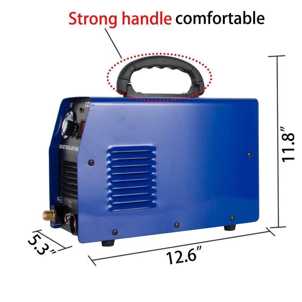 Плазменный резак для плазменной резки 60A 20 мм IGBT Инвертор Цифровой HF Scrach Start режущая машина ICUT60