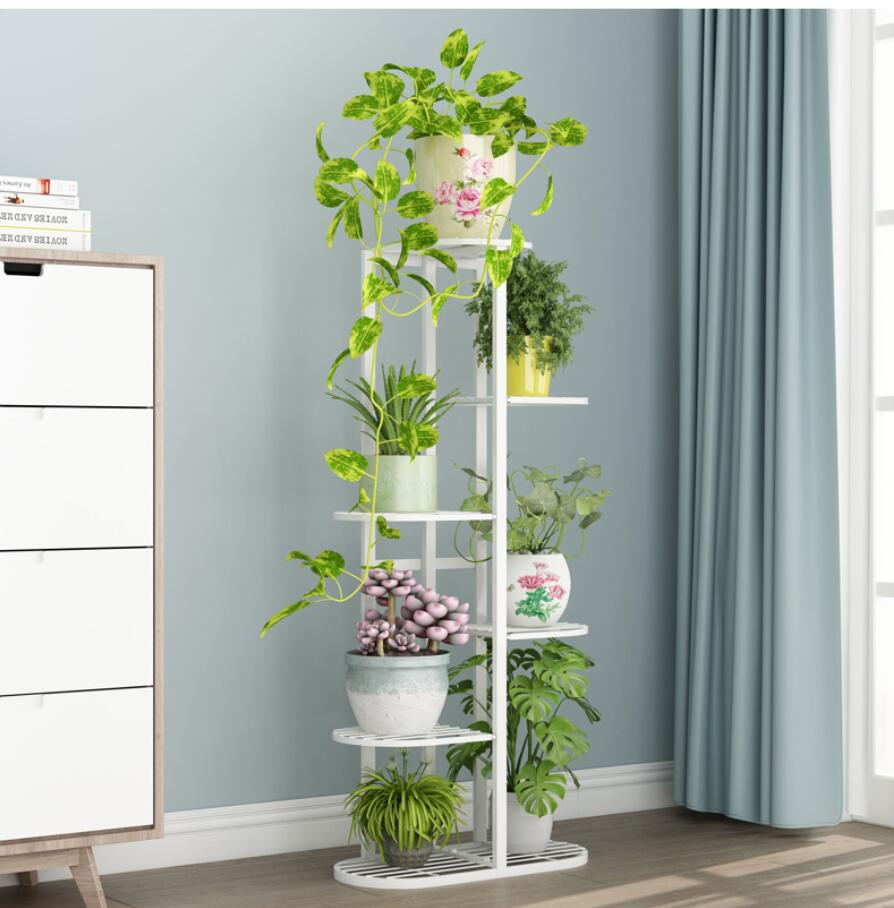 5layers standing flowerpots shelf .beautiful &nice flowerpot holder for  Balcony  Plant shelf for living room shelf