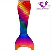 Myle Factory Unique Design Mermaid Swim Fin Swimmable Mermaid Tail Halloween Costume For Monofin Dress Women