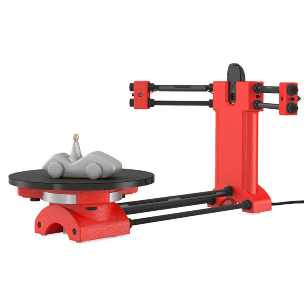 DIY 3d scanner kit laser scanner ciclop Portable 3d Open source ciclop full parts laser 3D scanner free shiping ciclop diy 3d three dimensional scanner adapter plate precision machine parts for 3d printer parts