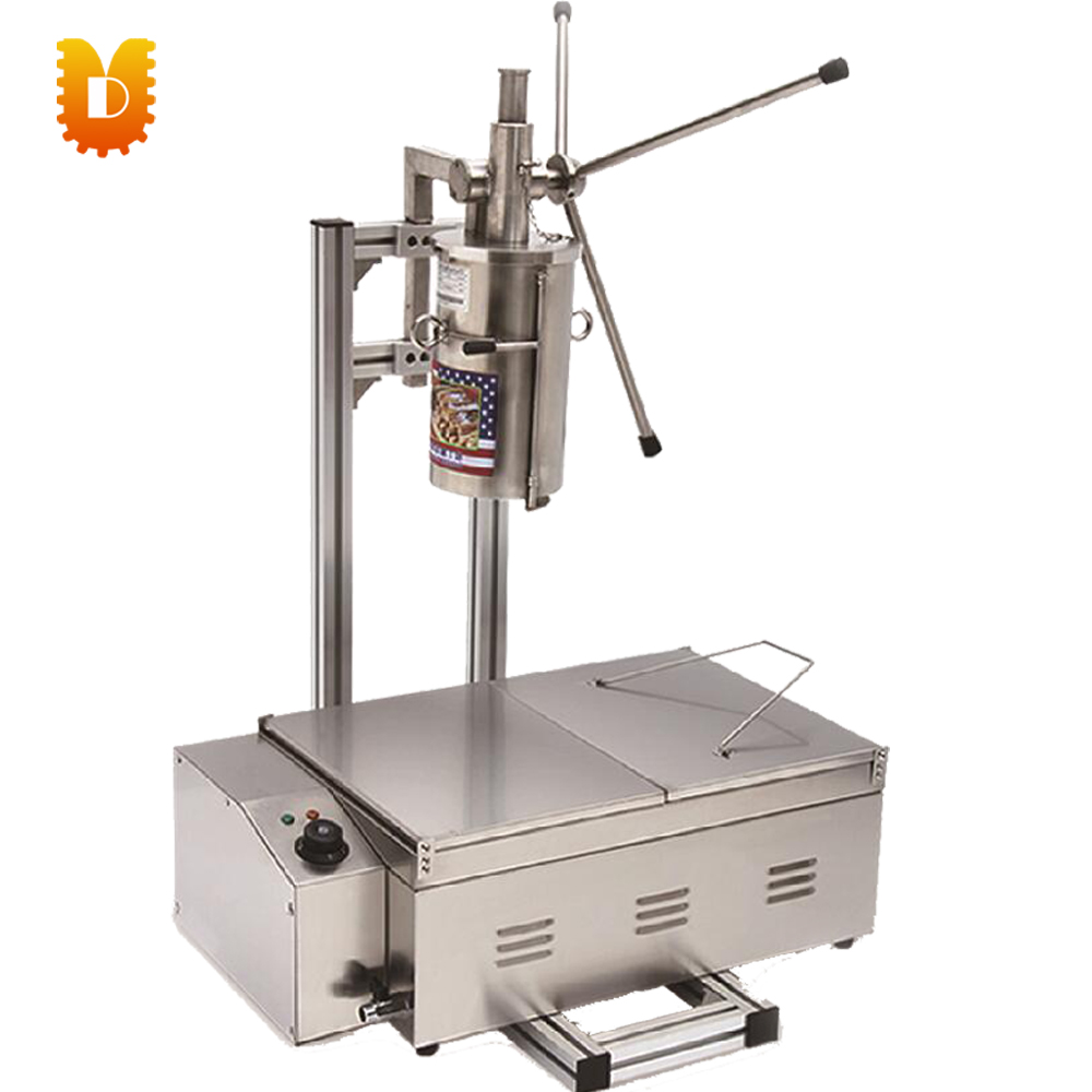 Spain churros machine churros making machine with electrical fryer salter air fryer home high capacity multifunction no smoke chicken wings fries machine intelligent electric fryer