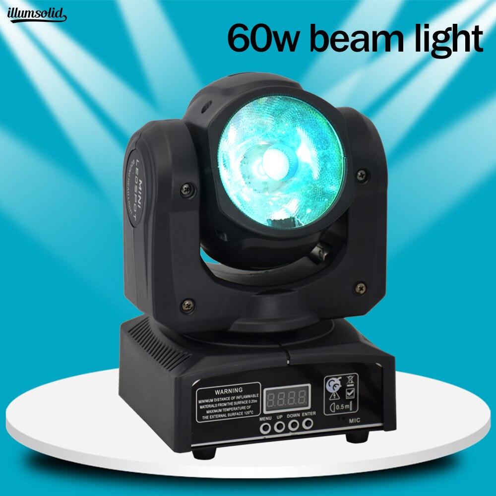 60 w dmx512 display led feixe moving head luz equipamentos de iluminacao de palco profissional