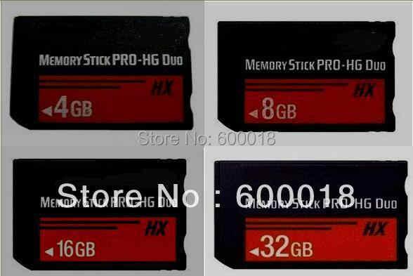 H2testw テスト実容量 MS HG 4 ギガバイト 8GB16GB 32 ギガバイト 64 ギガバイトのメモリースティック Pro デュオメモリーカードカード注: PSP クラックことができない使用この