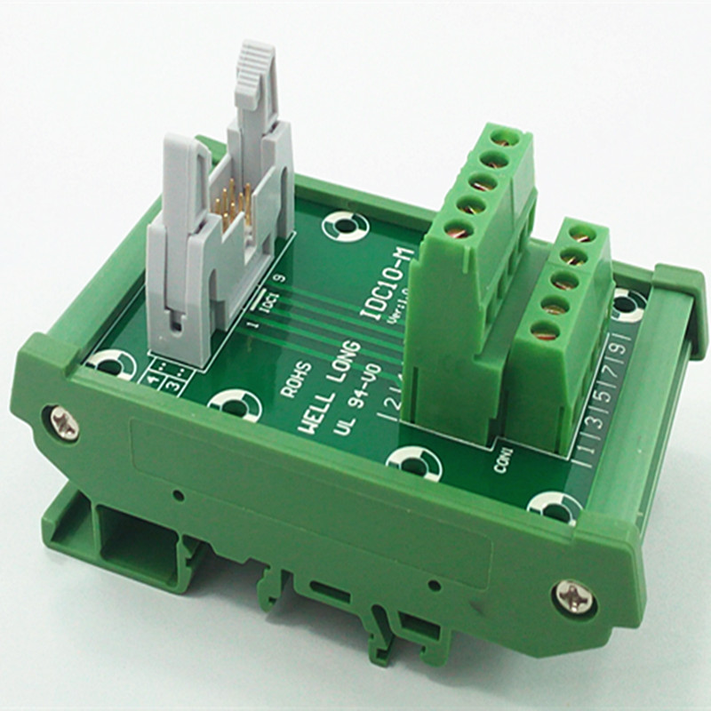 цена на IDC-10 DIN Rail Mounted Interface Module.