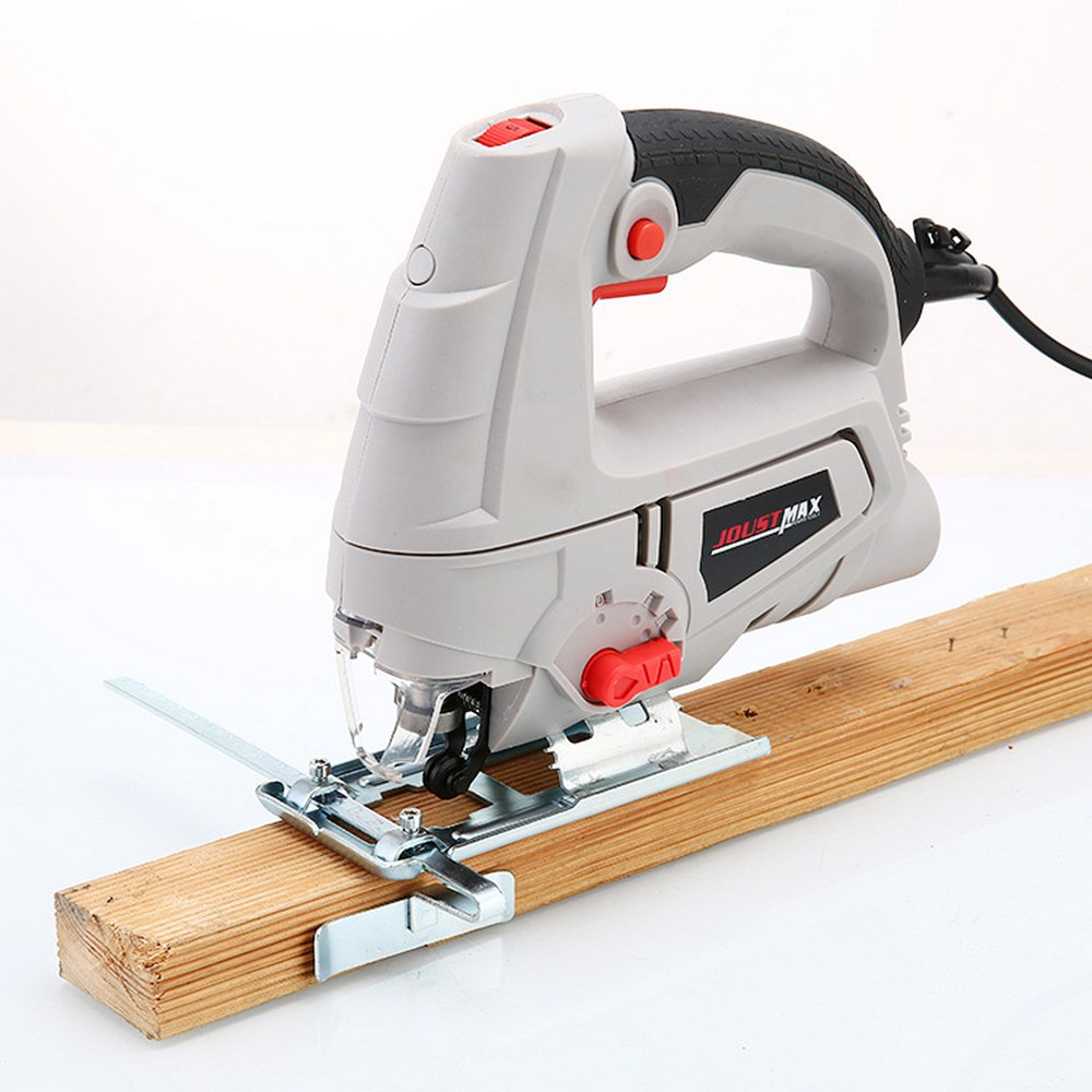 220V 600W Jig Saw Laser Guide 5 Variable Speed Electric Saw With 1 Pieces Blades  Metal Ruler  Allen Wrench Jigsaw Power Tools