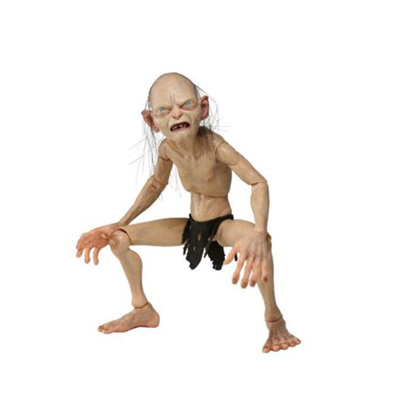 Action Figure Model Toys 1/4 Scale  Lord of the Rings Gollum Smeagol Movable Model Toys For   Children Gifts Collections 1 6 scale full set soldier the lord of the rings elven prince legolas action figure toys model for collections