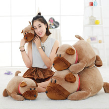 1pc 45/55/70/95cm Cute Puppy ornament Stuffed toys Shaggy figurine Shar Pei Pillows Smooth feel Home decorations Kid's Xmas Gift
