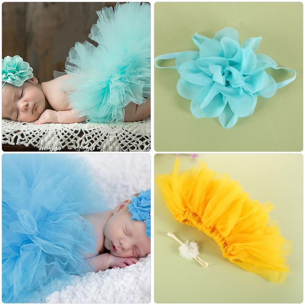 Otroški fotografski rekviziti za novorojenčke Oprema za trak krilo - Oblačila za dojenčke - Fotografija 3