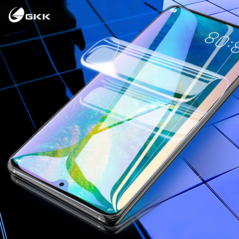 GKK Full Soft Hydrogel Film For Huawei Honor 8x 10 20 Pro Screen Protective For Huawei P30 Pro Lite P Smart 2019 Not Glass