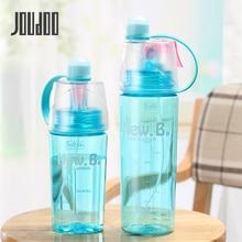 JOUDOO Creative Spray Sport Water Bottle Cycling Fruit Juice Bicycle Portable Kettle Shaker My 400ml/600ml SL000735
