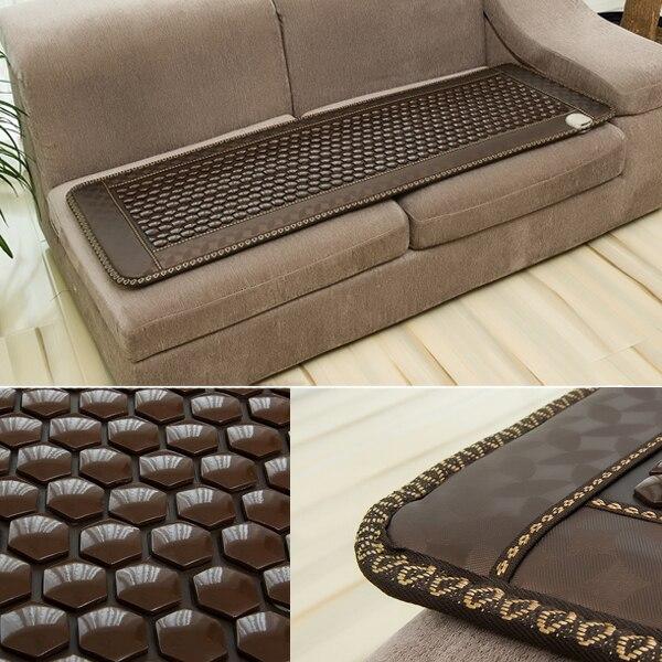 2016 hot sale comfortable massage sofa cover heating jade massager cushion 50*150CM 2016 hot sale comfortable tourmaline massage chair cover heating jade massager cushion new 45cm 45cm free shipping