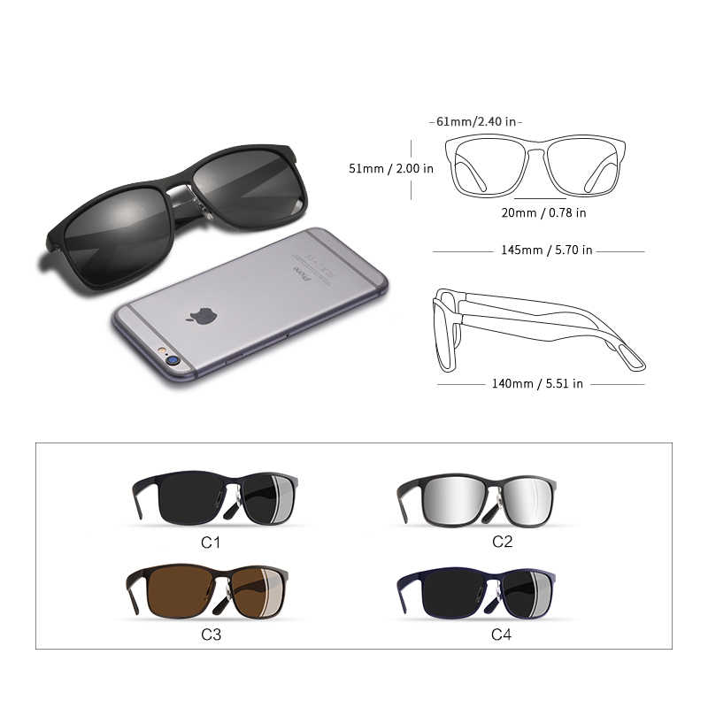 0b209288d280 ... AOFLY BRAND DESIGN Polarized Sunglasses Men Driving Sunglasses Coating Fishing  Driving Eyewear Male Goggles UV400 Oculos ...