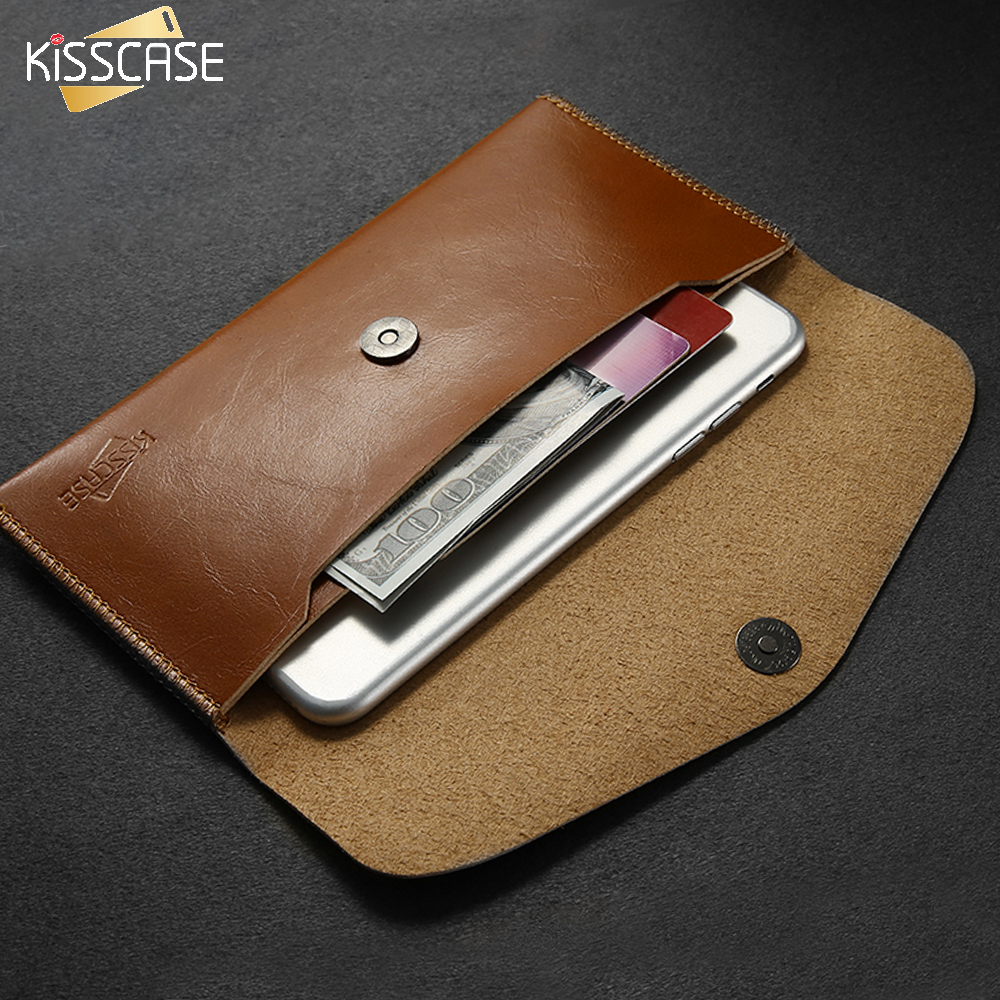 KISSCASE Glossy Pouch Case For Samsung Galaxy S8 S7 Edge Case A5 A7 S6 Mobile Accessories For Xiaomi 6 Redmi 4X Meizu Phone Case
