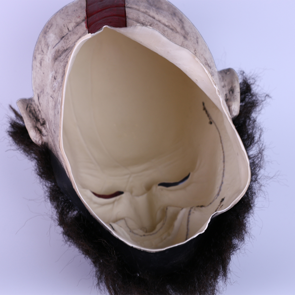 2018 Game God of War Kratos Leviathan Mask Cosplay Kratos Weapon Helmet Halloween Props (15)