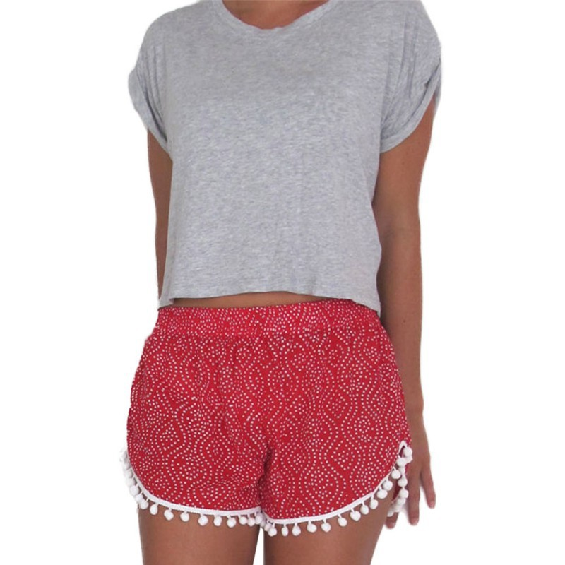 Aliexpress.com : Buy Women Girl Casual Shorts Elastic Waist ...