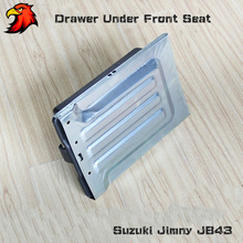 Drawer Bottom Tray Box Under Front Driver Or Passenger Seat For Suzuki Jimny Jb43