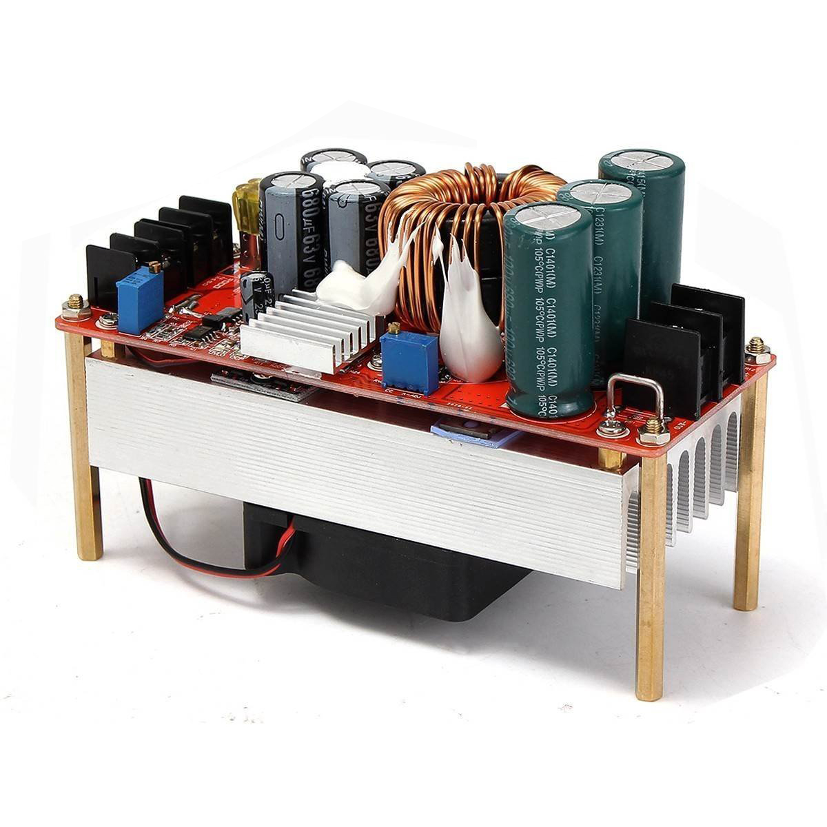 1500W 30A DC Boost Converter Step-up Power Supply Module In10~60V Out 12~90V New Electric Unit Modules Module