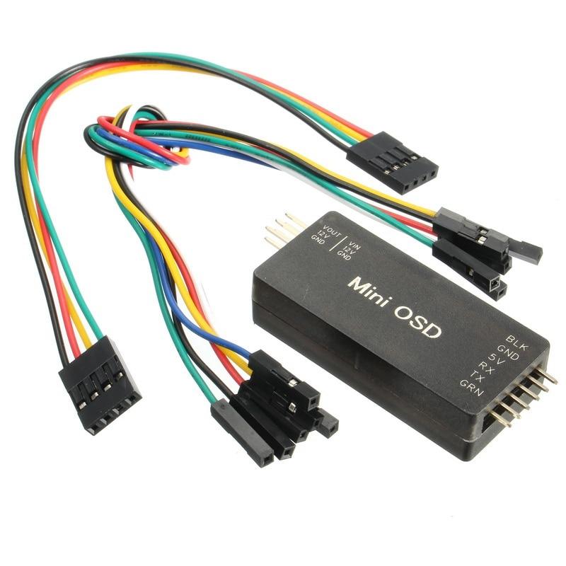 Mini OSD Module For APM PIX Pixhawk Pixhack Flight Control Board For RC Multirotor Parts naza m v2 flight control