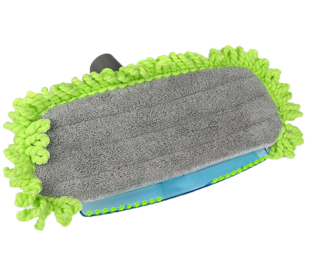 Vacuum Mophead Nozzle Floor Brush with Microfiber Dust Fringe Mop Pad Cloth
