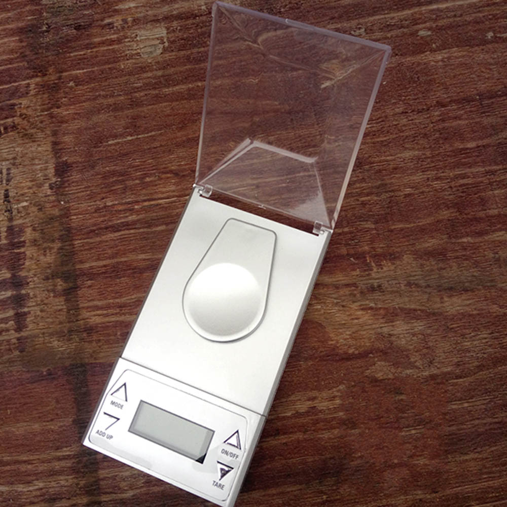 Pocket Scale Professional Digital Jewelry Mini High Precision Backlight LCD Screen 50g-0.001g