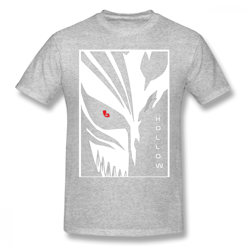 c9b22289698bc US $11.84 38% OFF|Anime Hollow Mask T Shirt Men Graphic Bleach Ichigo  Kurosaki Graphic Print Round Collar Free Shipping Tshirt-in T-Shirts from  Men's ...