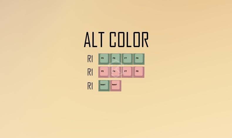 alt color