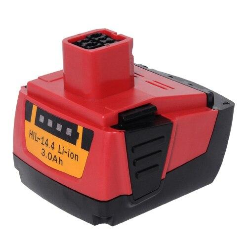 Batterie d'outil électrique, Hilti 14.4A, 3000 mAh, B144, SF144-A, SFH144-A, SIW144-A, SID144-A - 2