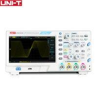 UNI T UPO2102CS ультра осциллографов светомассы 2CH 100 мГц Scopemeter Сфера метр 7 дюйм(ов) широкоформатный ЖК дисплей отображает USB Интерфейс