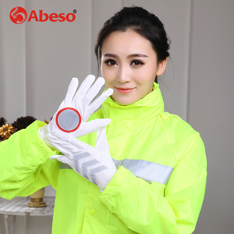 Abeso Firefighter's Hand Protective Equipment Fire Rescue Flame Retardant Safety Gloves with Reflective Material Tape A1005 fire fighting equipment rescue gloves hand protective gloves
