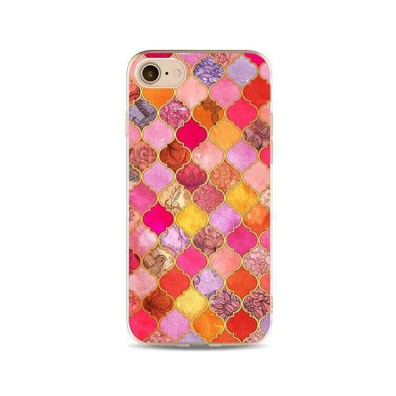 Colorful Geometry Pattern Phone Cases