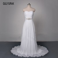 Long Sleeve Wedding Dress 2017 New V Neck Romantic Lace Casamento Court Train Robe De Mariage
