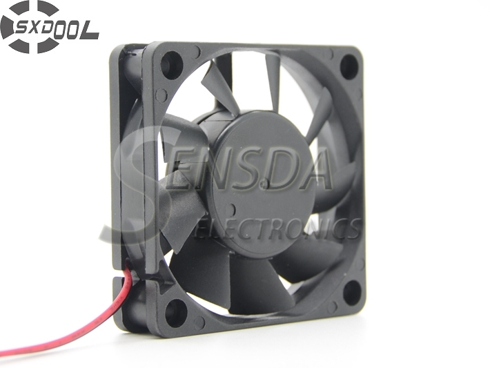 SXDOOL Cooling Fan 60mm 6015 6cm 60mm 60*60*15cm DC 12V 0.18A  high quality blower free shipping y s tech 6cm 60 60 10mm 6 6 1cm 6010 fd126010hb 12v 0 24a 3wire cooling fan