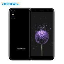 DOOGEE X55 Mobile Phone 1GB RAM 16GB ROM Android 7.1 Quad Core 2800mAh Quad Cameras 2×8.0MP+5.0MP 5.5 Inch 3G Cheap Smartphone