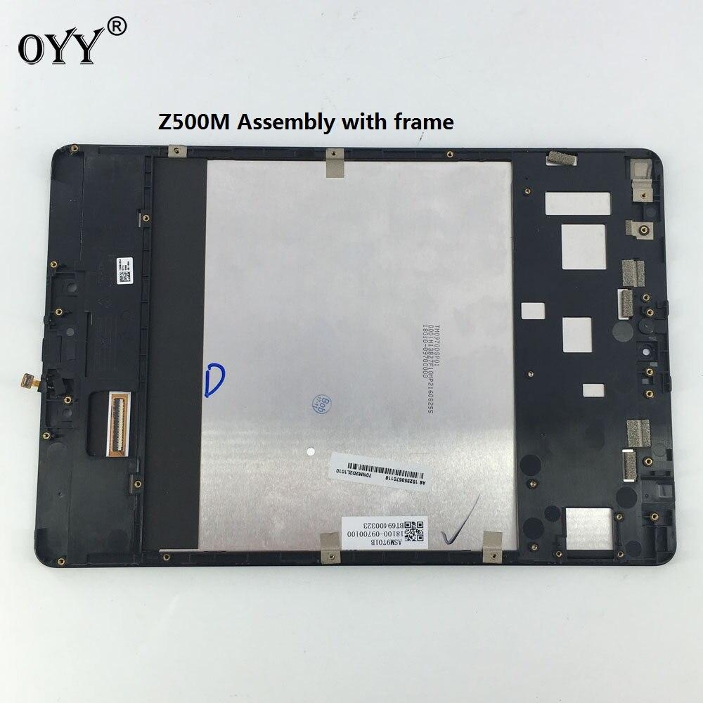Écran D'affichage À CRISTAUX LIQUIDES Moniteur Écran Tactile Verre Numériseur Assemblée avec cadre Pour ASUS ZenPad 3 s 10 Z500M P027
