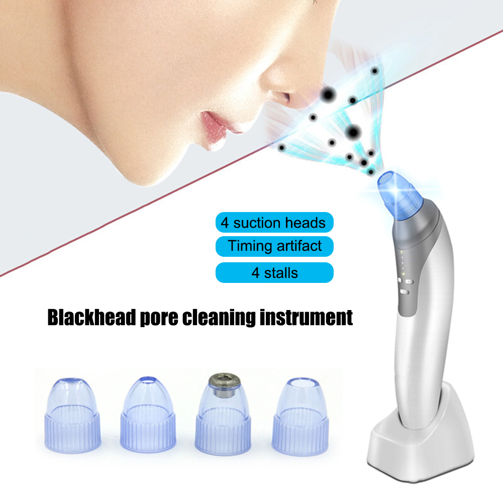 New Electronic Beauty Machine Massage Facial Skin Care Pore Cleaner Nose Cleansing Remover Blackhead Acne Suction Tools FM88 2017 electronic beauty machine massage facial skin care pore cleaner nose cleansing remover blackhead acne suction tools h7jp