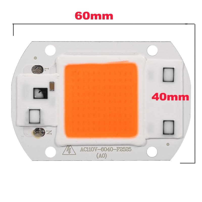 DIY Ամբողջական սպեկտրով 30W SMD LED Grow Chip - Մասնագիտական լուսավորություն - Լուսանկար 2