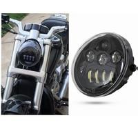 60W Motorcycle V Rod Led Lights For Harley VROD Motorcycle LED Headlight Daymaker for Harley V Rod VRSCF VRSC VRSCR 2002 2017