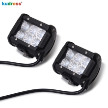 4inch 18W LED Work light Bar For Off Road 4×4 4WD ATV UTV SUV Motorcycle Truck Auto Tractor Boat Car Parts Daytime Running Light