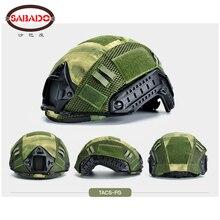Cobertura protetora para capacete de paintball, proteção para capacete de paintball com velcro, circunferência cs 52 60cm capa de proteção