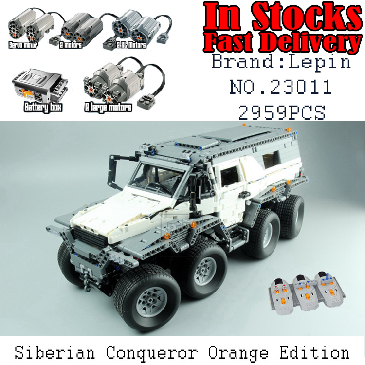LEPIN 23011 2959Pcs Technic Series Off-road vehicle RC car Model Building Blocks Bricks Compatible 5360 Toys for chidren gifts new lepin 23011 technic series 2816pcs off road vehicle model building blocks bricks kits compatible 5360 boy brithday gifts