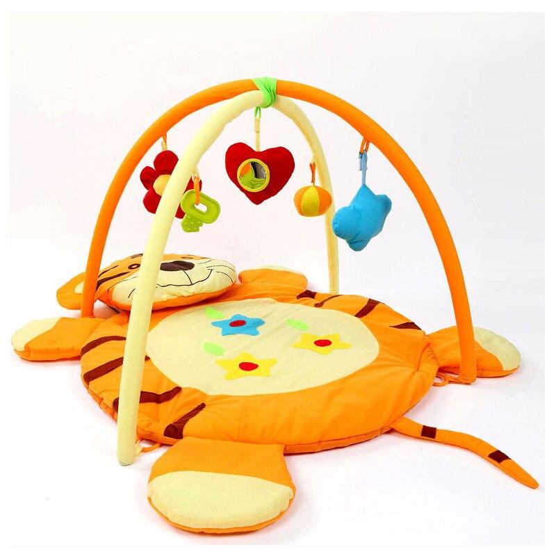 Jeu couverture tigre ramper Pad musculation ramper couverture jouet Bundle bébé tapis de jeu enfants Gym activité magique le rassemblement tapis de jeu