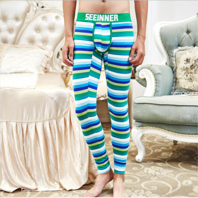 2 pieces freight 0 2017 new Autumn and winter Cotton Men & women long johns thermal underwear pants red,green,sky blue
