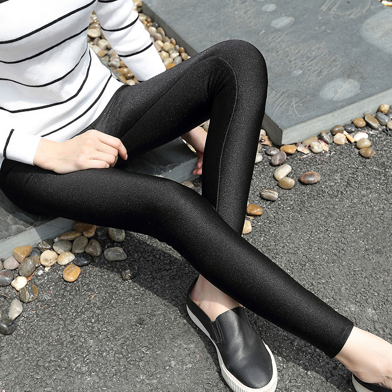 57b94db856287 View Offer. Tags: bivigaos, summer, womens, colourful, super, elastic,  slim, leggings, chinlon, shiny, legging, luster, foot, pants, black ...