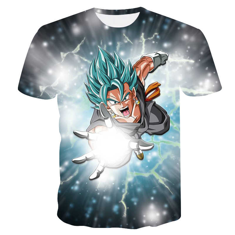 """2018 футболка с драконом и шариком 3D мужская футболка """"Аниме"""" harajuku Comics Tops Goku Ball Z печать тройник мода странные вещи"""