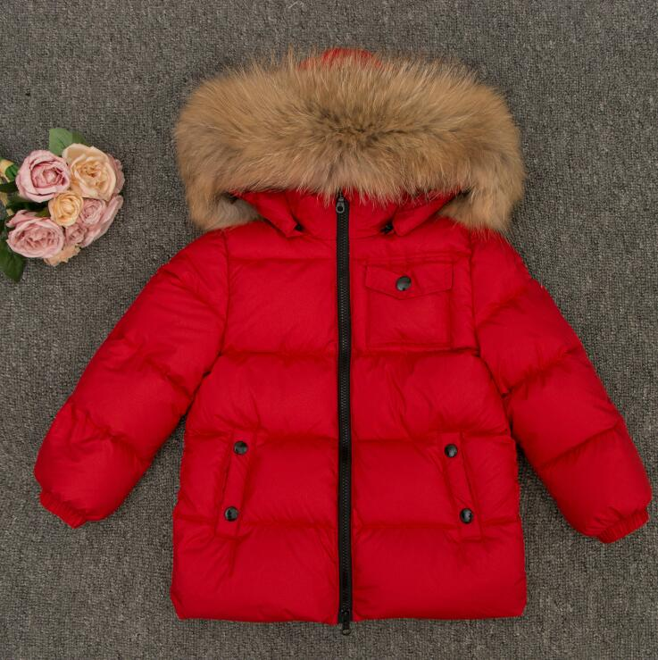 teen girls shoes for the russian winter outerwear jacket coat boys baby fluffy coat with fur hood jacket for girls zipper pocket quilted coat with fur trim hood