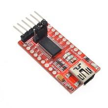 FT232RL FTDI USB 3,3 V 5,5 V to TTL модуль последовательного адаптера forArduin Mini Port. Купите хорошее качество! Пожалуйста, выберите меня
