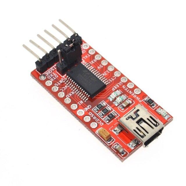 FT232RL FTDI USB 3.3 v 5.5 v TTL Série Adaptateur Module forArduin Mini Port. acheter une bonne qualité! s'il vous plaît choisir moi