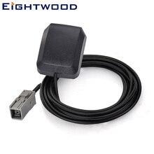 Eightwod автомобильная антенна с GPS активная антенна с GT5 Jack серый коаксиальный разъем для CHRYSLER DODGE JEEP Honda Nissan